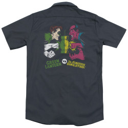 Image for DC Comics Dickies Work Shirt - GL Vs Sinestro