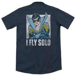 Image for DC Comics Dickies Work Shirt - Fly Solo