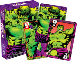 Image for Hulk Playing Cards - Comics