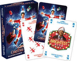 Image for Christmas Vacation Playing Cards - Electric