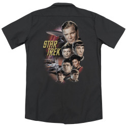 Image for Star Trek Dickies Work Shirt - The Classic Crew