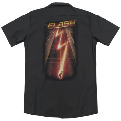 Image for The Flash TV Dickies Work Shirt - Flash Ave