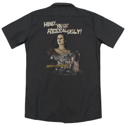Image for Army Of Darkness Dickies Work Shirt - Reeeal Ugly!