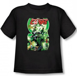 Image for Green Lantern Corps #25 Logo Toddler T-Shirt
