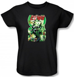 Image for Green Lantern Corps #25 Logo Woman's T-Shirt