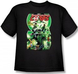 Image for Green Lantern Corps #25 Logo Youth T-Shirt
