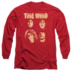 Image for The Who Long Sleeve T-Shirt - Who Boys