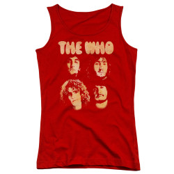 Image for The Who Girls Tank Top - Who Boyss