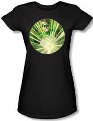 Image for Green Lantern Light 'em Up Girls Shirt
