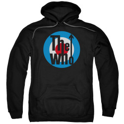 Image for The Who Hoodie - Logo Black