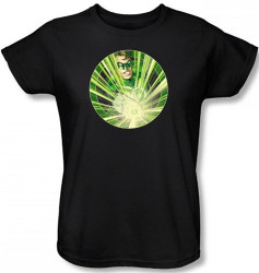 Image for Green Lantern Light 'em Up Woman's T-Shirt