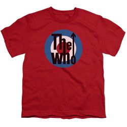 Image for The Who Youth T-Shirt - Logo Red