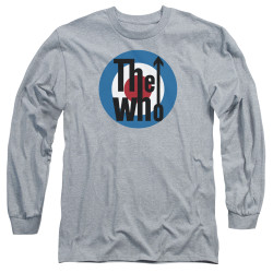 Image for The Who Long Sleeve T-Shirt - Logo Grey