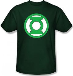 Image for Green Lantern Lantern Logo Girls Shirt