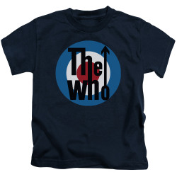 Image for The Who Kids T-Shirt - Logo Navy