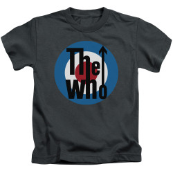 Image for The Who Kids T-Shirt - Logo Charcoal
