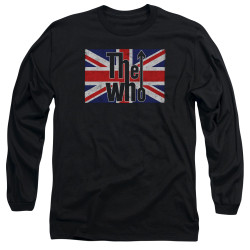 Image for The Who Long Sleeve T-Shirt - Flag Logo