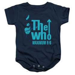 Image for The Who Baby Creeper - Maximum R&B Navy