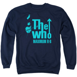 Image for The Who Crewneck - Maximum R&B Navy