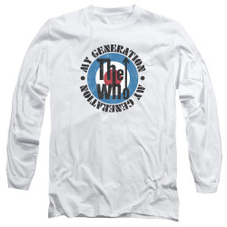 Image for The Who Long Sleeve T-Shirt - My Generation