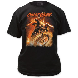 Image for Ghost Rider T-Shirt - Hell Chains