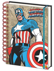 Image for Captain America Journal - Retro