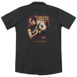 Image for Delta Force Dickies Work Shirt - Delta Force 2 Poster