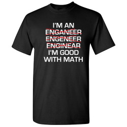 Image for I'm Good With Math T-Shirt