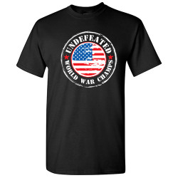 Image for Undefeated World War Champs T-Shirt