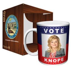 Image for Parks & Rec Vote Knope Coffee Mug