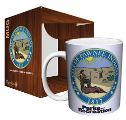 Image for Parks & Rec City of Pawnee Seal Coffee Mug
