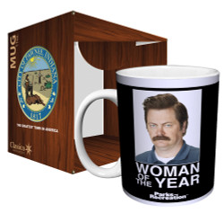 Image for Parks & Rec Woman of the Year Coffee Mug