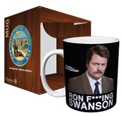 Image for Parks & Rec Ron F***ing Swanson Coffee Mug