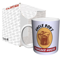Image for Reservoir Dogs Uncle Bob's Pancake House Logo Coffee Mug
