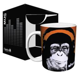 Image for Steez Headphone Monkey Coffee Mug