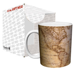 Image for Antique World Map Coffee Mug