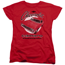 Image for Chevy Woman's T-Shirt - Retro Camaro