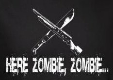 Image for Zombie T-Shirt - Here Zombie Zombie