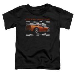 Image for Chevy Toddler T-Shirt - Orange Z06 Vette