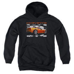 Image for Chevy Youth Hoodie - Orange Z06 Vette