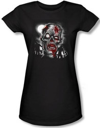 Image for Zombie Walking Dead Girls Shirt