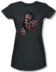 Image for Zombie Clawing Free Girls Shirt