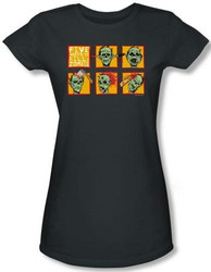 Image for Zombie Five Ways to Kill a Zombie Girls Shirt