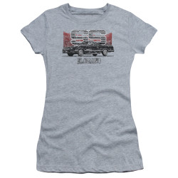 Image for Chevy Girls T-Shirt - El Camino SS Mountains
