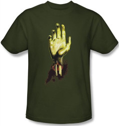 Image Closeup for Zombie T-Shirt - Need a Hand?