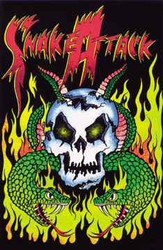 Image for Snake Attack Blacklight Poster