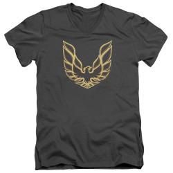 Image for Pontiac V-Neck T-Shirt - Iconic Firebird