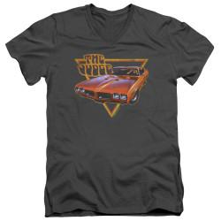 Image for Pontiac V-Neck T-Shirt - Judged