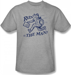 Image for Run! It's the Man! T-Shirt