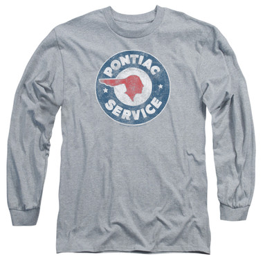 Image for Pontiac Long Sleeve T-Shirt - Vintage Pontiac Service